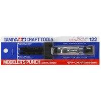 Tamiya-Juego de punzón de modelador, modelo de plástico, herramientas de artesanía práctica, 74122, 2mm/3mm