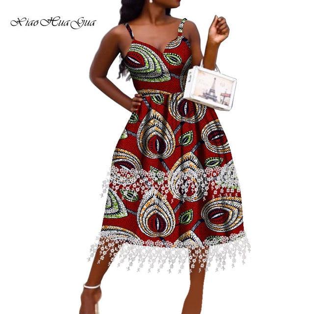 Фото женское платье в африканском стиле модное анкары с открытыми цена