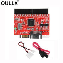OULLX 2 in 1 IDE to SATA / Adapter Converter 3.5 40pin for DVD CD HDD Bidirectional Transfer PC Data Cable