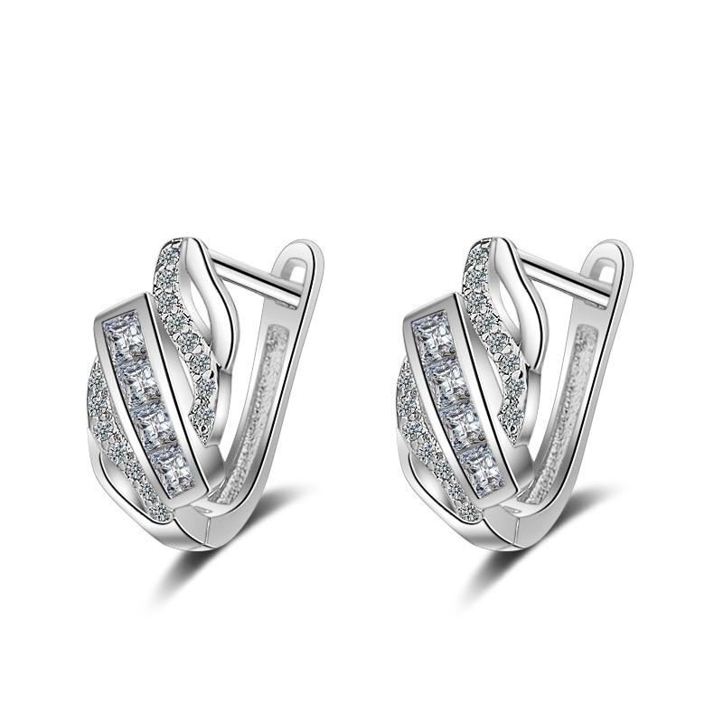 Argent Sterling 925 Boucles d/'Oreilles Fleur Perle Tassel Style Women Fashion Jewelry