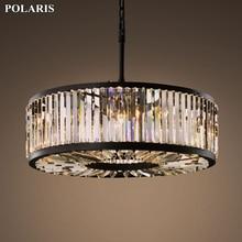 Moderne Vintage Kristall Kronleuchter Beleuchtung Anhänger Hängen Licht Decke Montiert Kronleuchter Lampe für Home Hotel Villa Decor