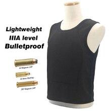 Bulletproof Vest IIIA level Ultra-comfortable Lightweight Concealed Hidden Inside Wear Soft Anti-Bullet T shirt Work Clothes