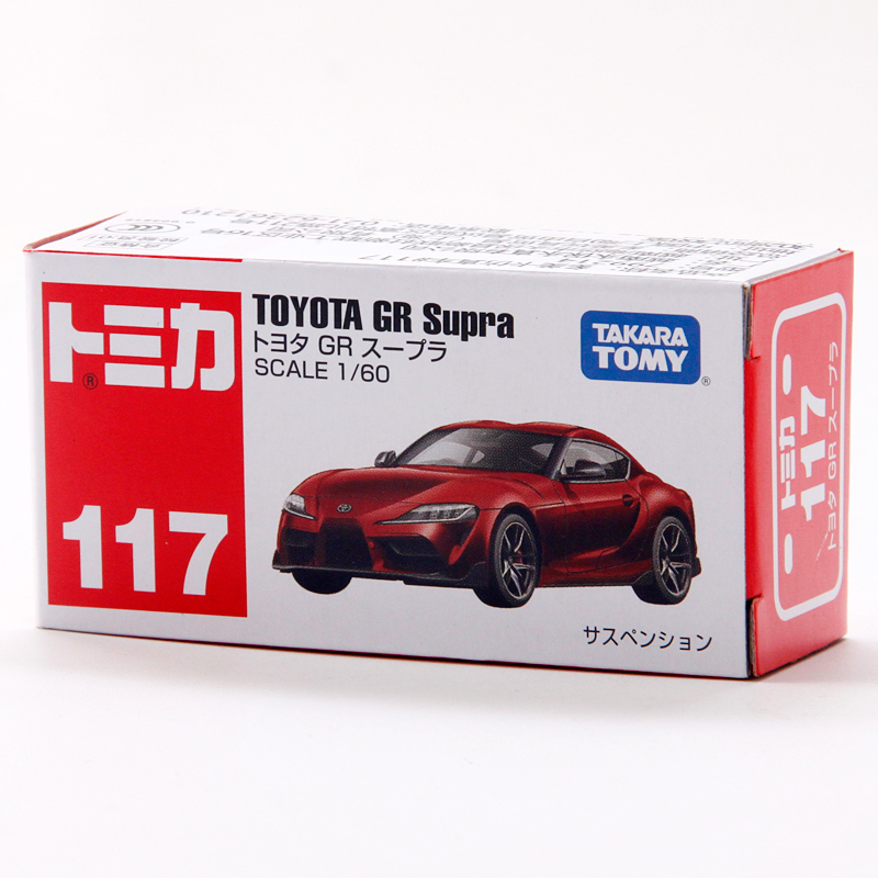 Takara Tomy Tomica – voiture jouet en métal moulé, 1:60, TOYOTA GR, réf. 117