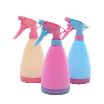 Candy Color Watering Can Bottles Hand Pressure Water Sprayer Outdoor Plastic Garden Plant Flower Spray Bottle Planting gadgets