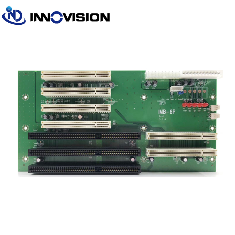 Stable 6-Slot PICMG PCI/ISA Backplane With ATX Funcition