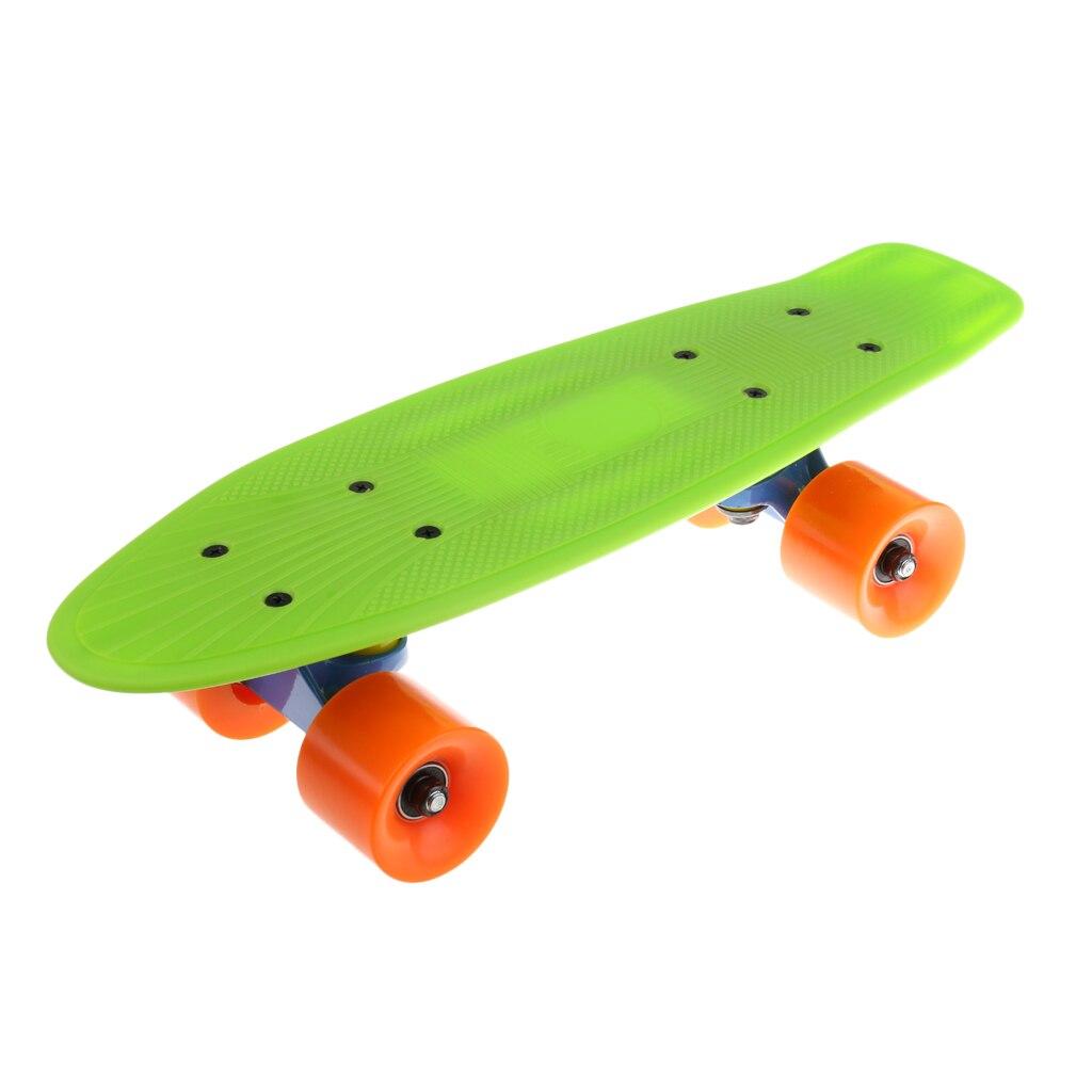 Mini Lightweight Complete Skateboard 78A PU Wheels ABEC-7 Bearings School Outdoor Sports Equipment For Boys Girls Kids Youth