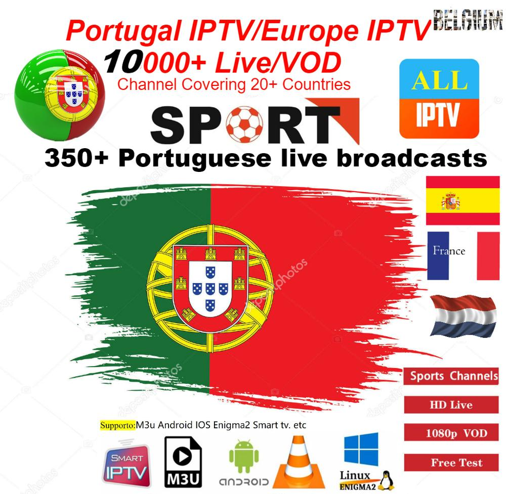 Portugal IPTV Portuguese IPTV/europe IPTV Subscription For UK Germany French Spanish Belgium Mediaset Premium For M3u Android