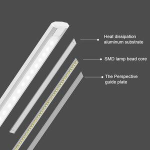 Image 4 - JUNEJOUR LED שולחן אור מנורת שולחן Dimmable נגיעה חיישן מתקפל עיניים להגן על עם USB שחור/כסף/זהב
