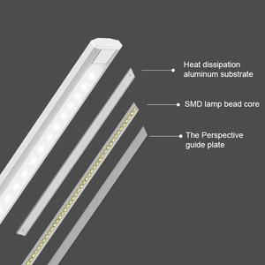 Image 4 - JUNEJOUR LED lampe de Table lampe de bureau capteur tactile réglable yeux pliables protéger avec USB noir/argent/or