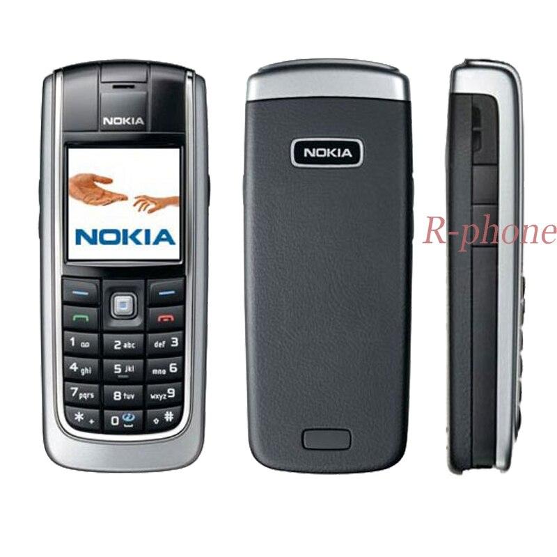 Celular nokia 6021 original desbloqueado, telefone móvel renovado gsm tri-band, bluetooth preto e presente
