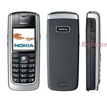 Oryginalny telefon komórkowy NOKIA 6021 odblokowany odnowiony GSM tri-band Bluetooth czarny i prezent