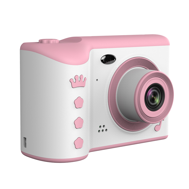 """Children Camera 2.8"""" IPS Eye Protection Screen HD Touch Screen Digital Dual Lens 18MP Camera for Kids"""