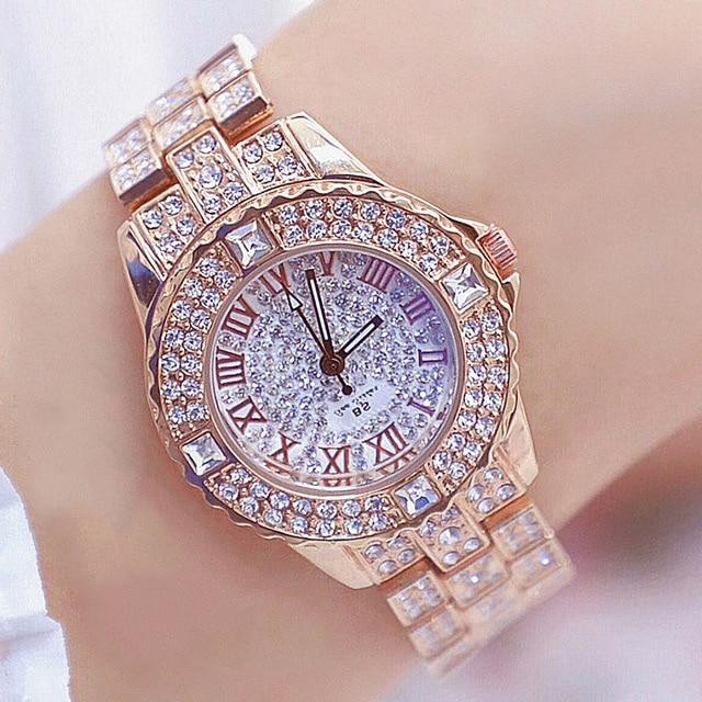 Women Watches Diamond Gold