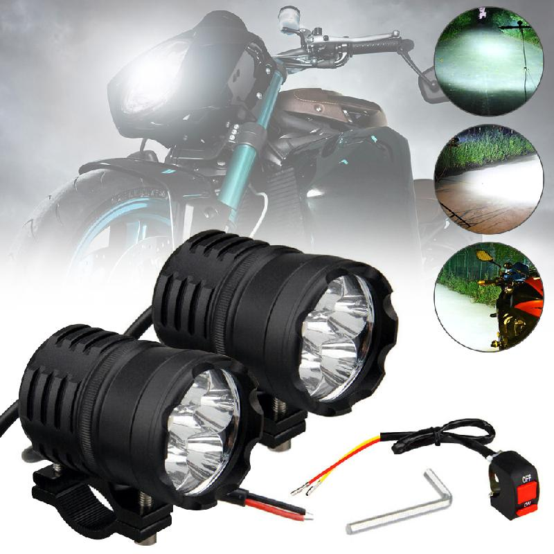 2x <font><b>LED</b></font> 60w 3-Modes 6500k <font><b>Led</b></font> Motorcycle bike Headlight bulb Waterproof Driving Spot Fog Lights External Accessories bulb <font><b>12</b></font>/<font><b>80V</b></font> image