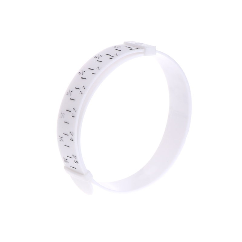 Bracelet Sizer Plastic Wristband Measuring Tool Bangle Jewelry Making Gauge Hand