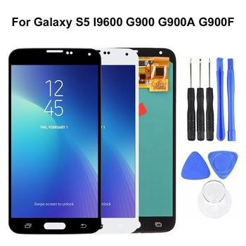AMOLED LCD Display Touch Screen Digitizer Replacement Kit for Samsung Galaxy S5 2020 new dropshipping image