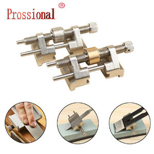Metal Honing Guide Jig For Sharpening Wood Chisel Plane Iron Planer Blade System