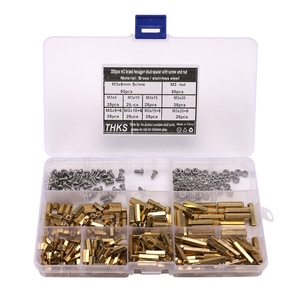 TOP 300Pcs M3 Copper Male Fema