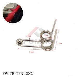 FUMAO 4pcs Professional custom torsion spring, Special for perm rod 1.2x24mm/1.2x26mm/1.2x28mm