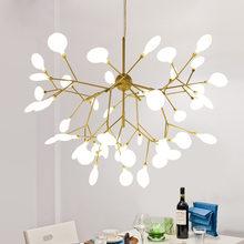 Diodo emissor de luz moderno lustre iluminação pingente luchandeliers lustres para sala estar quarto cozinha nordic design luminária luzes