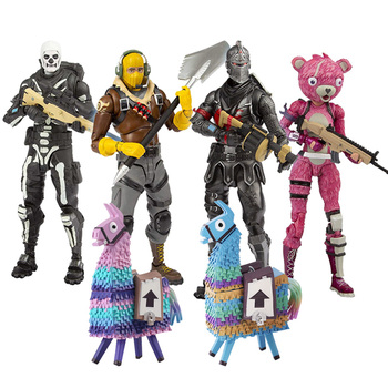 19cm  Fortress Night Battle Royale Llama Horse Action Figure Toys Game PVC Figure Model Toy For Children Gift