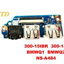 Для lenovo 300-15IBR 300-14 звуковая плата USB доска 300-15IBR 300-14 BMWQ1 BMWQ2 NS-A484 испытанное хорошее