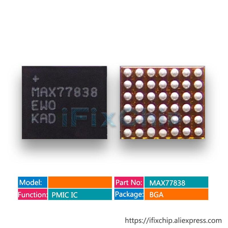 3 unids/lote MAX77838 77838 de pequeña potencia chip ic para Samsung S7 borde/S8 G950F/ S8 + G955F pantalla PM IC PMIC