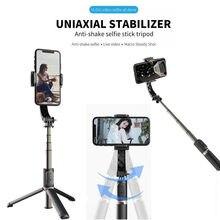 Legal dier handheld cardan estabilizador smartphone celular com selfie vara tripé para gravação de vídeo vlog ao vivo