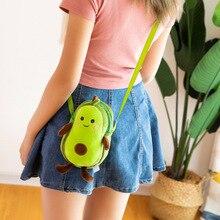 Мультфильм авокадо плюшевые каваи игрушки мягкие фрукты Творческий женский mulit стиль сумка для детей Дети подарок игрушки