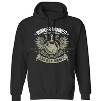 WINNER WINNER CHICKEN DINNER Mens Unisex (Womens) Winter Hoodies Sweatshirts Free Shipping