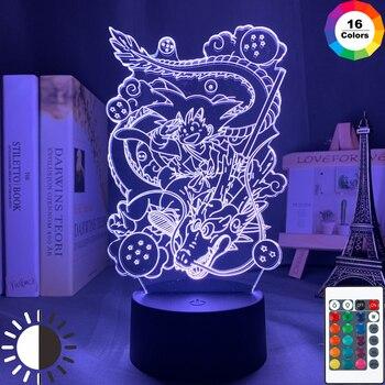 Japanse animatie draken 3D Led Lamp/Nachtlamp 1