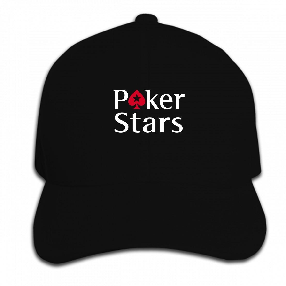 Print Custom Baseball Cap Pokerstars Poker Logo Mens Women  Hat Peaked Cap