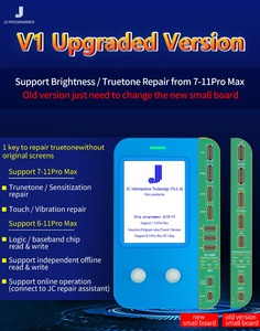 Image 4 - JC V1 yükseltme PCB kartı Ip 11 11Pro Max LCD dokunmatik ekran onarım ışık sensörü gerçek ton kurtarma programcı