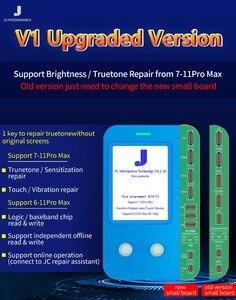 Image 4 - Плата PCB JC V1, обновленная, для Ip 11 11Pro Max, ЖК дисплей, сенсорный экран, светильник для ремонта, сенсор, программист для восстановления истинного тона