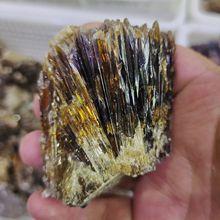 1 шт. 200-300 г натуральный желтый кальцит необработанный камень драгоценный камень в коллекцию грубый камень минеральный образцы Исцеление домашний декор