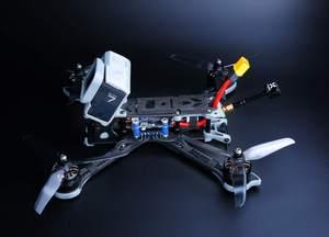 Image 2 - IFlight Nazgul5 Drone de 5 taille BNF, Drone de 227mm avec cadre XL5 V4/moteur XING E 2207/caméra Ratel Caddx FPV, pour kit de course