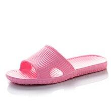 Ladies slippers summer beach indoor home bath non - slip female women shoes flip flops size 36 45