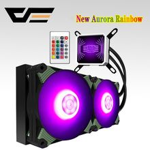darkFlash Aigo PC Case Water Cooling Computer CPU Fan T120/240 Water Cooler Heatsink Integrated Water Cooling Radiator Intel/AMD(China)