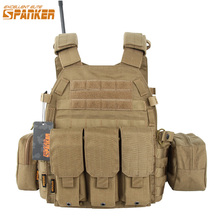 EXCELLENT ELITE SPANKER Outdoor Hunting 6094 Vests Tactical Vest Suit Military Men Clothes Army CS  Equipment Accessories