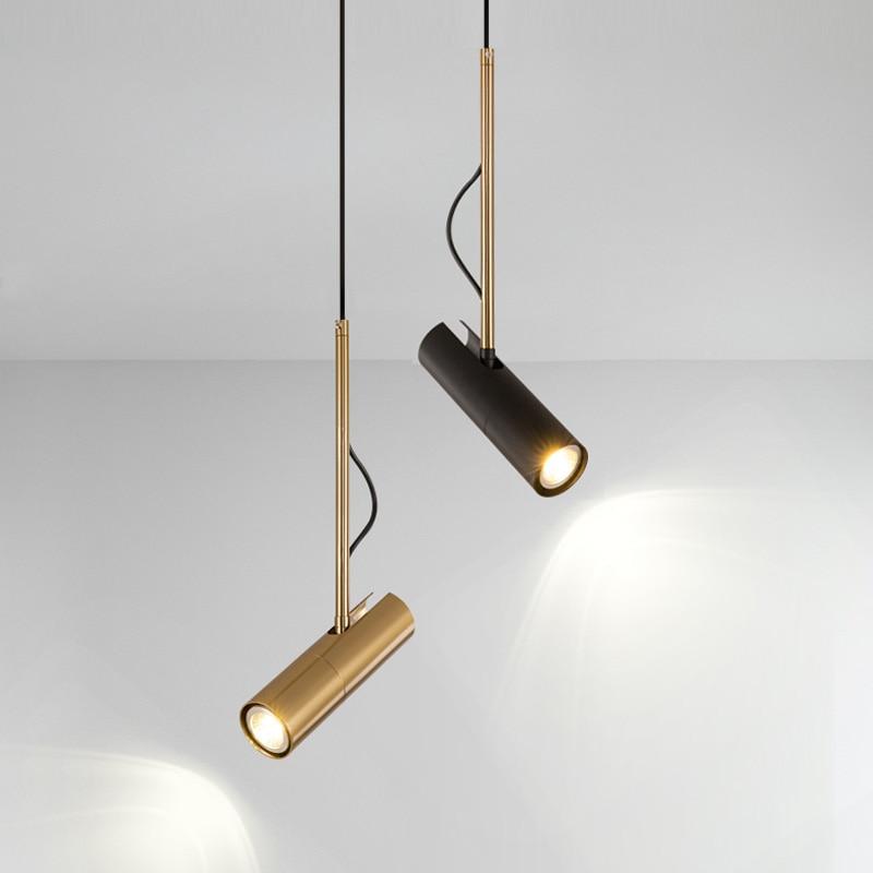 Modern LED Hanging Lamp For Dining Room Brass Pendant Lights Restaurant Fixture Bedroom Study Office Decoration Lustre