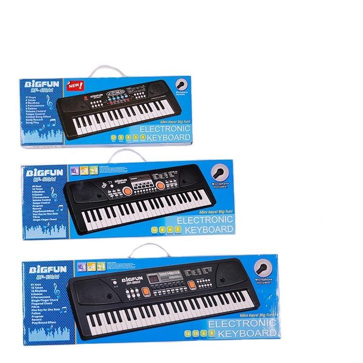 Bigfun Multi-functional CHILDREN'S Electronic Keyboard With Microphone Studio Baby Music Toy Hot Selling