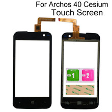 Touch Screen Glass For Archos 40 Cesium Touch Screen Front G