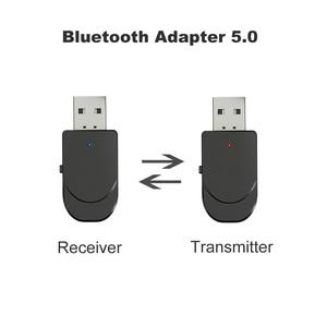 Image 3 - 3 In 1 Mini Bluetooth 5.0 Audio ontvanger Zender 3.5 Mm Jack Aux Usb Stereo Music Draadloze Adapter Voor Tv auto Pc Hoofdtelefoon