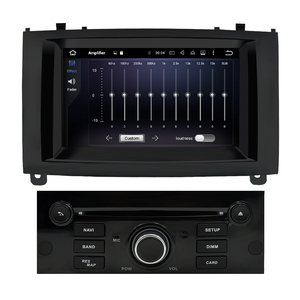 Image 3 - 4G RAM Android 9,0 Auto DVD Player Multimedia Stereo Für Peugeot 407 2004 2005 2006 2007 2008 2009 2010 auto Radio GPS Navigation