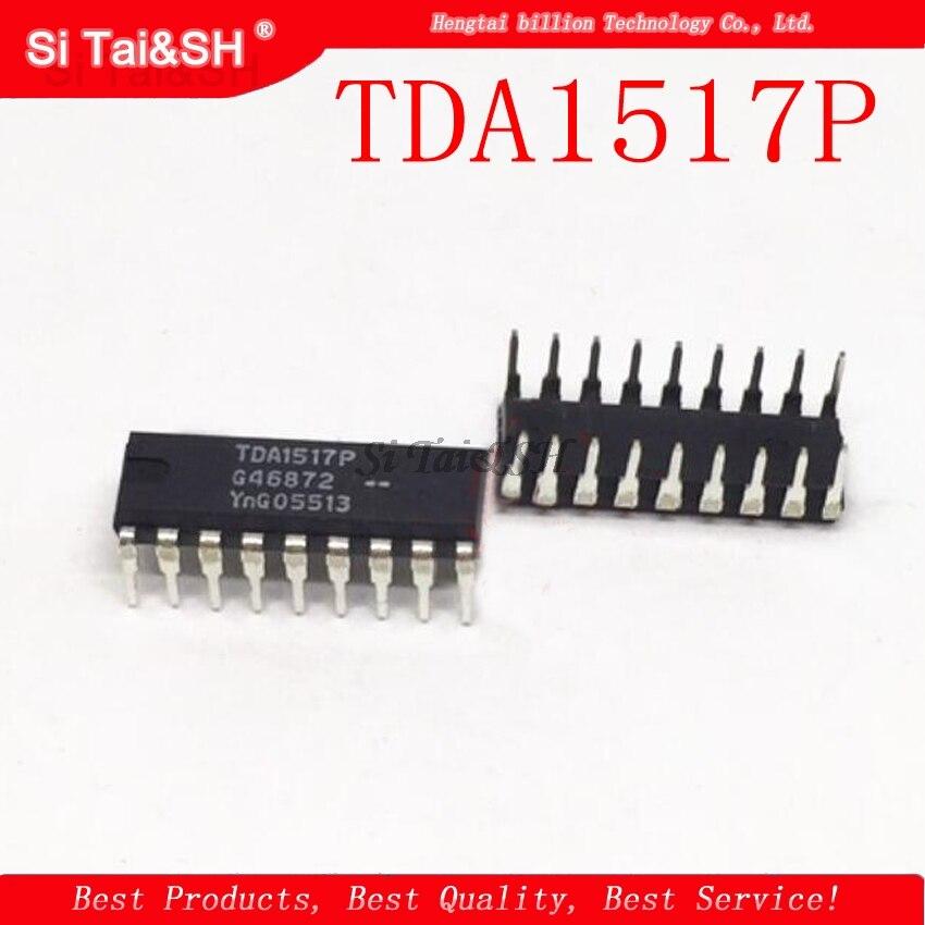 10pcs/lot TDA1517P TDA1517 1517P 1517 DIP18 TDA1517P = UTC1517  YD1517P
