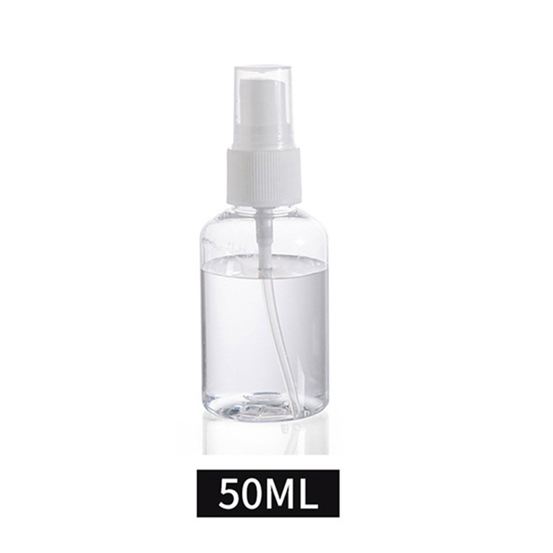 30 мл 50 мл 100 мл многоразовый мини-парфюм пустая бутылочка с распылителем косметические контейнеры пластмассовый распылитель портативный дорожный флакон для духов - Цвет: 50ML