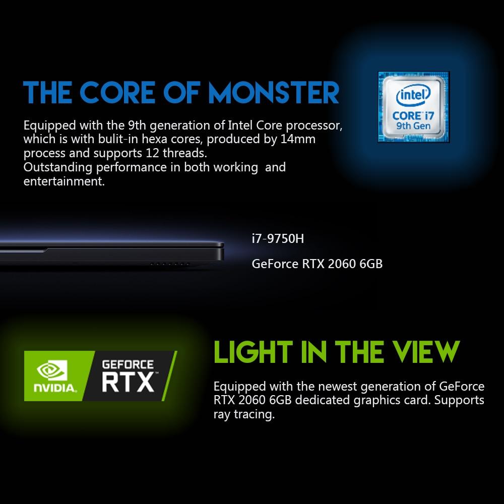 Оригинальный Xiaomi mi Ga mi ng ноутбук 2019 Windows 10 Intel Core i7 9750 H RTX 2060 16 Гб ОЗУ 512 ГБ SSD HD mi ноутбук ПК Bluetooth - 3