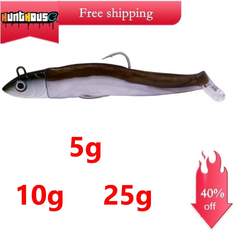 Hunthouse Black Minnow 120/90mm 25/12/5g Fishing Easy Shiner Soft Noeby Lure Minnow Hengelsport Bass Fishing Leurre Souple