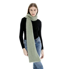 Hot Autumn Winter Female Wool Scarf Women Cashmere Scarves Solid Color Long Shawl Wrap Blanket Warm Tippet Wholesale O16(China)