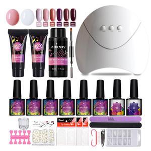 Manicure Set Polygel Kit With
